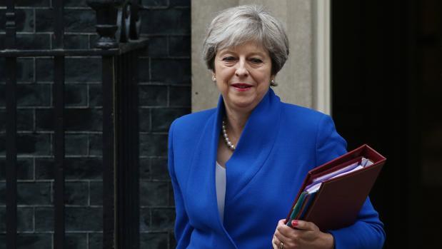 La primera ministra bruitánica, Theresa May, el pasado miércoles
