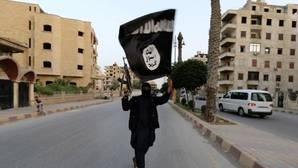 Imagen de archivo de un yihadista de Daesh