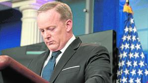 El nombramiento de Scaramucci ha provocado la renuncia de Spicer (en la imagen)