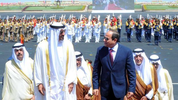 Egipto inaugura «la mayor» base militar en Oriente Próximo