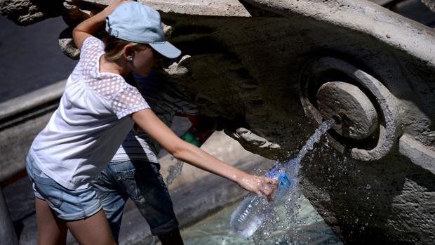 El Vaticano corta el agua de las fuentes de San Pedro por la sequía