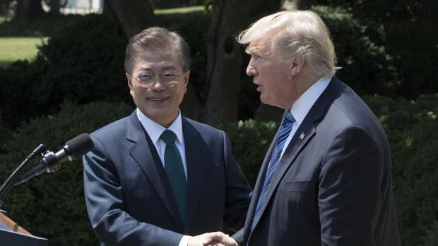 Estados Unidos y Corea del Sur realizan un ensayo con misiles tras el último lanzamiento norcoreano