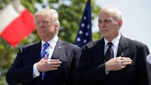 Donald Trump, en una imagen de archivo con el ahora jefe de gabinete, John Kelly
