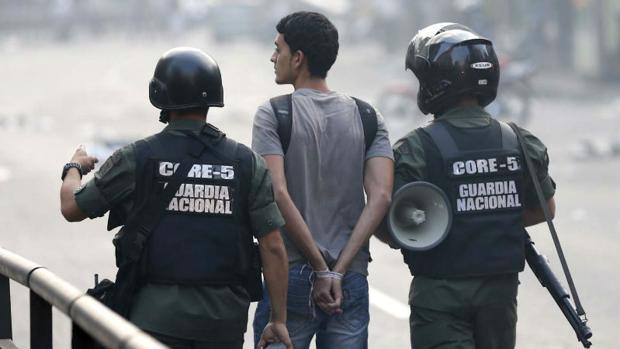 Se multiplica casi por cinco el número de presos políticos en Venezuela desde el 1 de abril