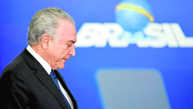 El Congreso brasileño decide el futuro del presidente Temer