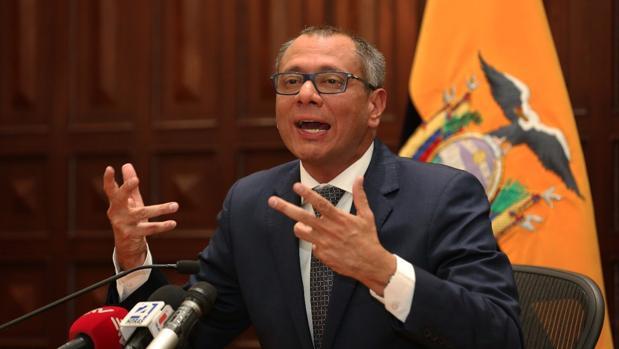 La trama Odebrecht cerca al vicepresidente de Ecuador