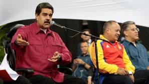 Maduro en un encuentro con miembros de la Asamblea Constituyente