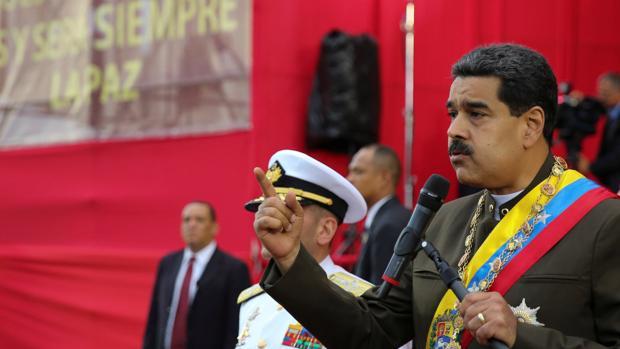 Nicolás Maduro, presidente de Venezulea