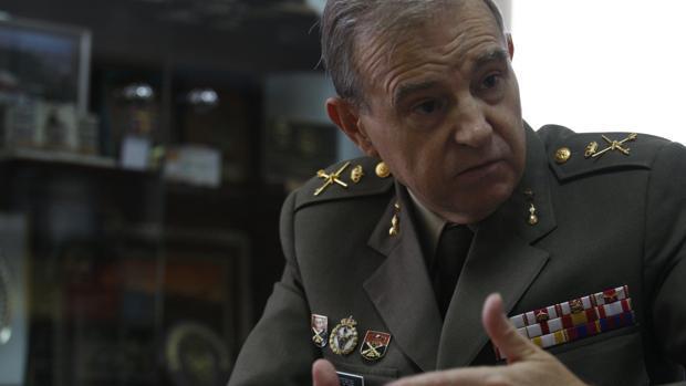 El general Miguel Ángel Ballesteros, director del Instituto Español de Estudios Estratégicos