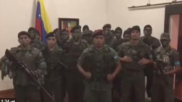 Lo que se sabe del conato de golpe militar en Venezuela