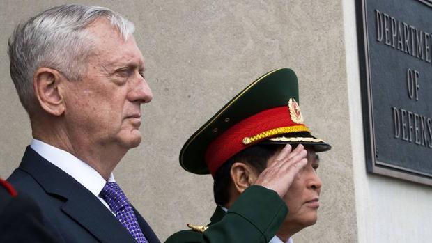 El jefe del Pentágono insiste en su superioridad armamentística ante Corea del Norte