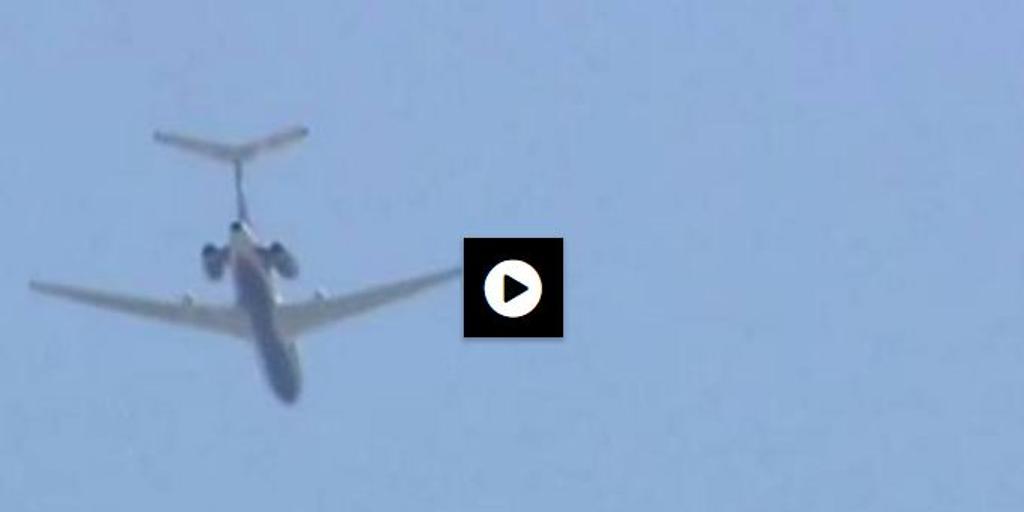 Un avión militar ruso sobrevuela Washington
