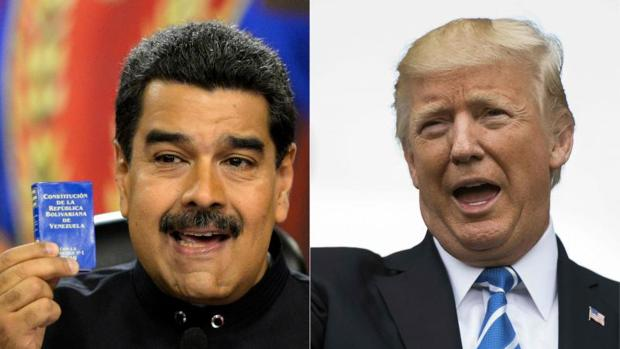 Trump rechaza la propuesta de Maduro para que hablen ambos por teléfono