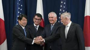Estados Unidos y Japón estrechan su alianza militar ante la amenaza de Corea del Norte