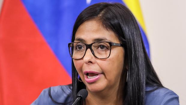 La presidente de la Asamblea Nacional Constituyente, Delcy Rodríguez