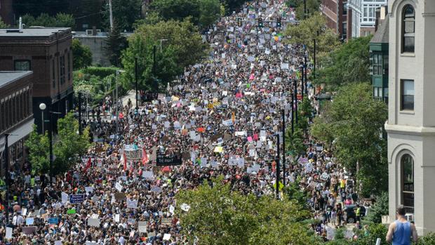 Marchas en Boston