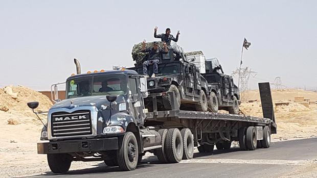Fuerzas iraquíes, cerca de la ciudad Tal Afar