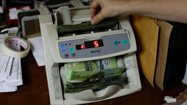 Según las autoridades, cerca del 30% de la distribución de billetes que hace el Banco Central de Venezuela (BCV) se desvía hacia la frontera