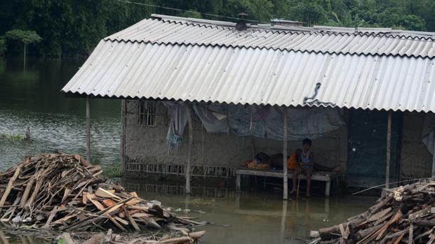 Las lluvias torrenciales en el estado indio de Bihar dejan 253 muertos