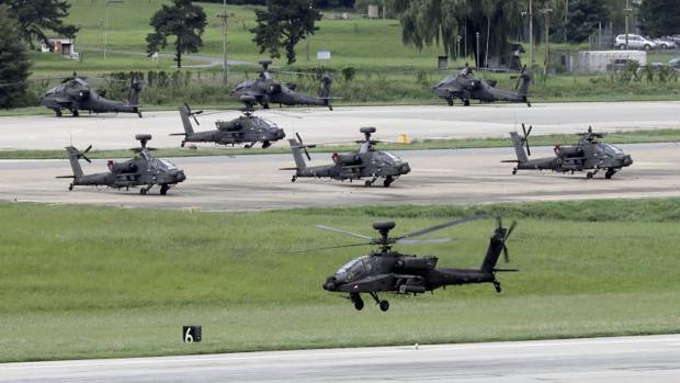 Las maniobras conjuntas de Corea del Sur y Estados Unidos infunden preocupación