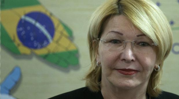 Luisa Ortega en una reunión de fiscales de los países del Mercosur