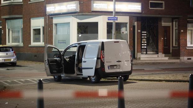 La furgoneta sospechada en las callas de Róterdam
