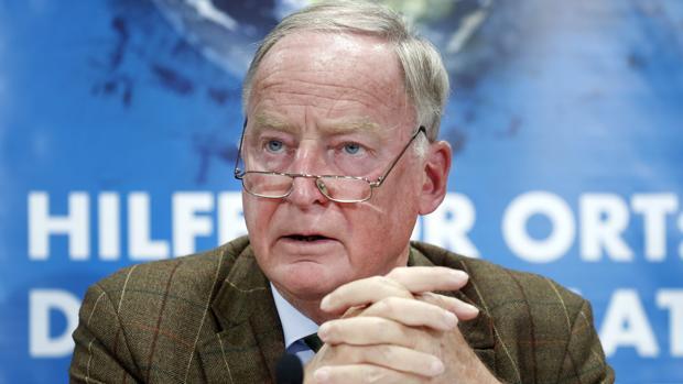 Alexander Gauland, candidato del partido Alternativa para Alemania (AfD)