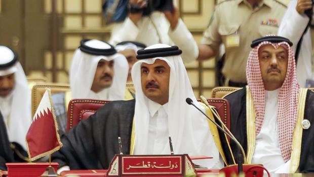 Sheikh Tamim bin Hamad al-Thani, emir de Qatar