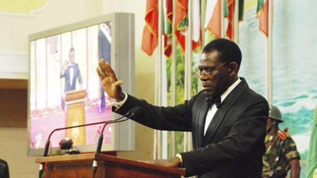 Teodoro Obiang está a la cabeza de la dictadura más antigua de África: lleva 38 años en el poder