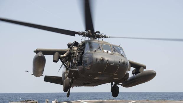 Un helicóptero militar de EEUU se estrella en la costa sur de Yemen