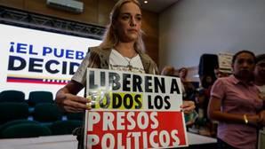 La opositora Lilian Tintori ha llamado a continuar la lucha hasta que no queden presos políticos en Venezuela