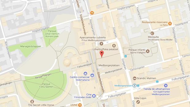 Apuñalado un policía en Estocolmo