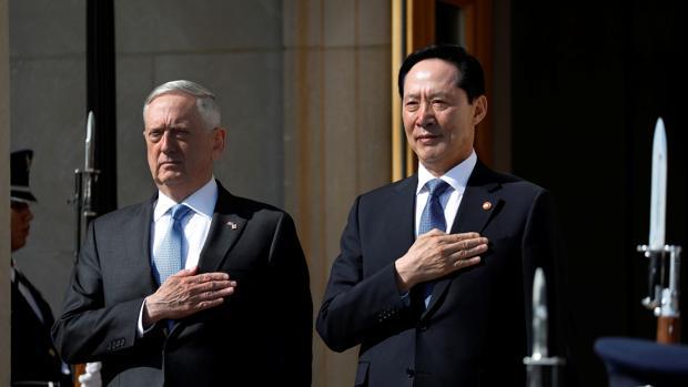 EE.UU. y Corea del Sur no descartan una «opción militar» para frenar a Kim Jong-un