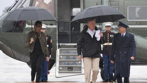 Trump promete donar 1 millón de dólares de su bolsillo a las víctimas del huracán Harvey