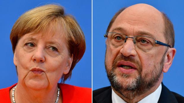 Merkel impone sus condiciones en el debate televisado