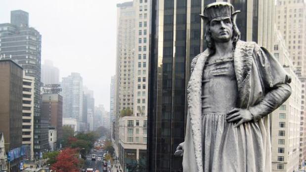 Estados Unidos borra a Cristóbal Colón