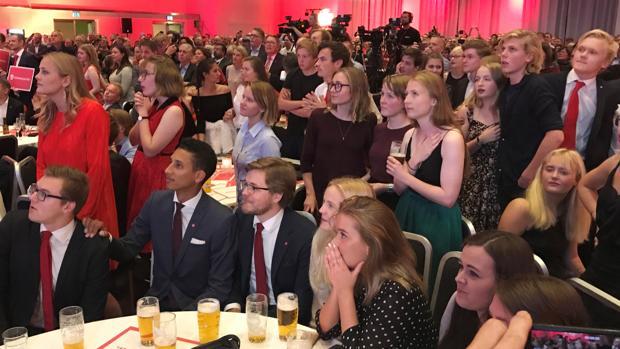 La «premier» conservadora noruega, Erna Solberg, camino de repetir mandato