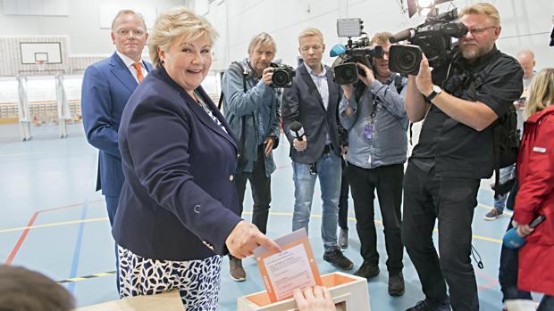 El partido conservador repite legislatura en Noruega