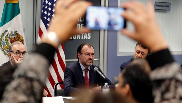 El ministro Videgaray, en Los Angeles