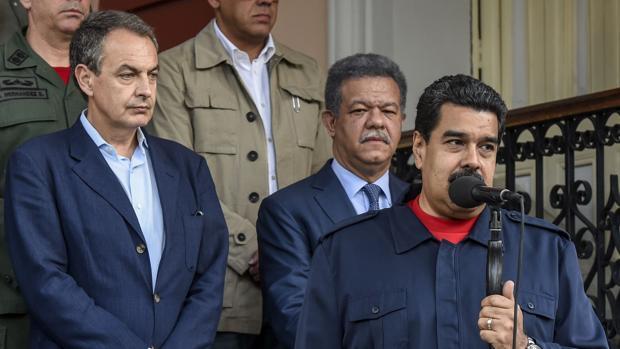 Hemeroteca: Maduro acepta la invitación de Zapatero para reanudar el diálogo   Autor del artículo: Finanzas.com