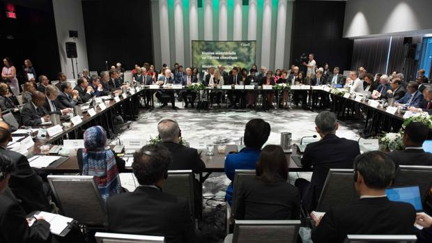 Reunión este sábado en Montreal de más de 30 representantes de los países que han firmado el Acuerdo de París contra el cambio climático