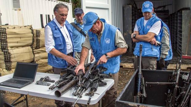 ¿Dónde están misiles de las FARC?