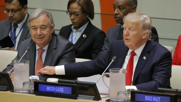Guterres y Trump, unidos por la reforma de la ONU