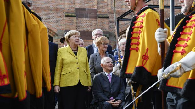 Cálido homenaje a Schäuble con un cierto sabor a despedida