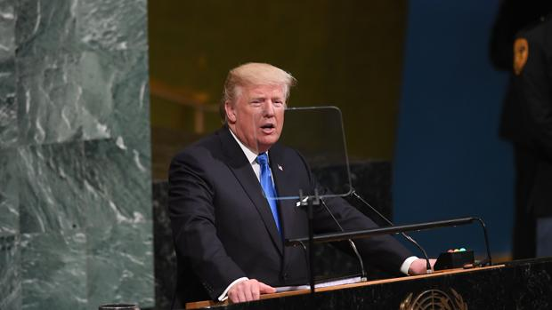 Image result for Discurso de Donald J Trump en la ONU