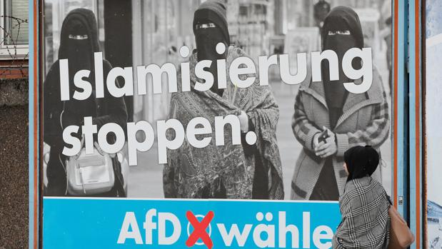 Resultado de imagen para sirios en alemania AfD