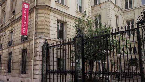 Sede del Partido Socialista francés, en un barrio burgués de París