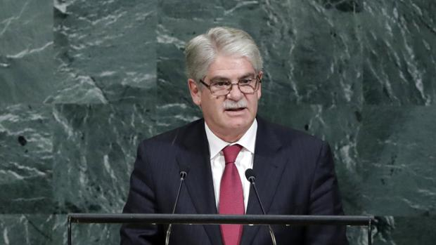 Dastis defiende ante la ONU que el 'procés' es «incompatible con la democracia»