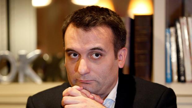 El hasta ahora vicepresidente del Frente Nacional, Florian Philippot