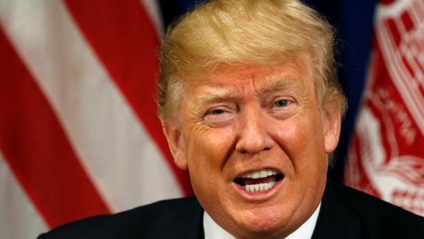 El presidente de EE.UU.., Donald Trump